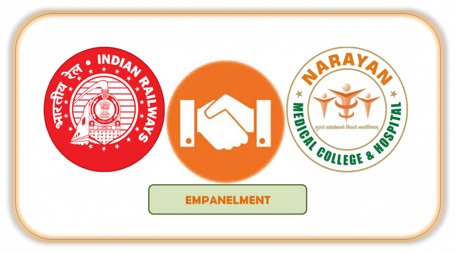 Narayan_medical College and Hospital Empanelment with Indian Railways